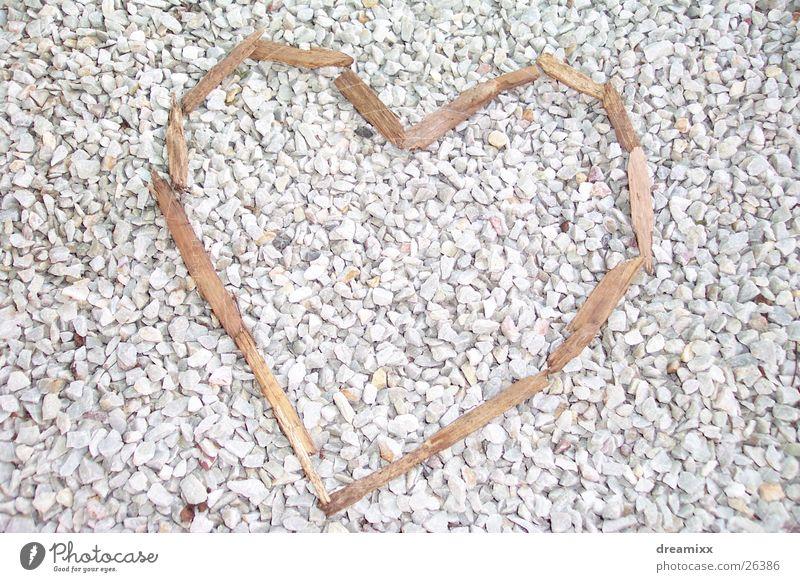 wood heart Wood Splinter Gravel Heart Branch Love