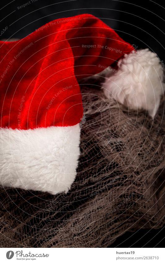 Christmas background with decorations Christmas & Advent Winter Dark Religion and faith Style Feasts & Celebrations Art Design Decoration Elegant Creativity