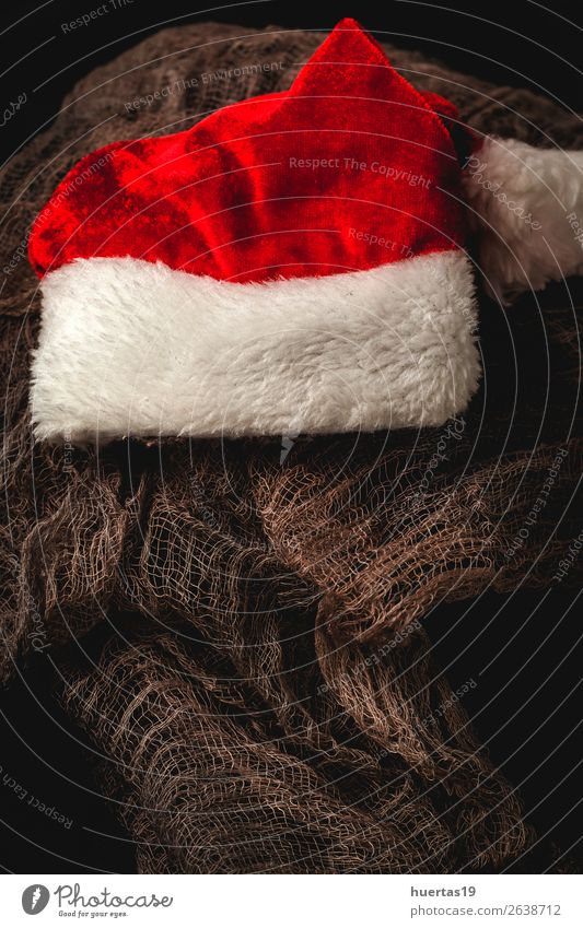 Christmas background with decorations Winter Decoration Desk Feasts & Celebrations Christmas & Advent New Year's Eve Art Dark Religion and faith Creativity