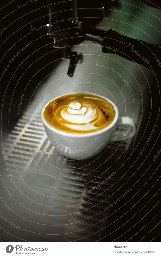 coffee in smoke Beverage Hot drink Hot Chocolate Coffee Latte macchiato Mug Café Cafeteria Café au lait Coffee cup Coffee maker Lifestyle Elegant Style Design