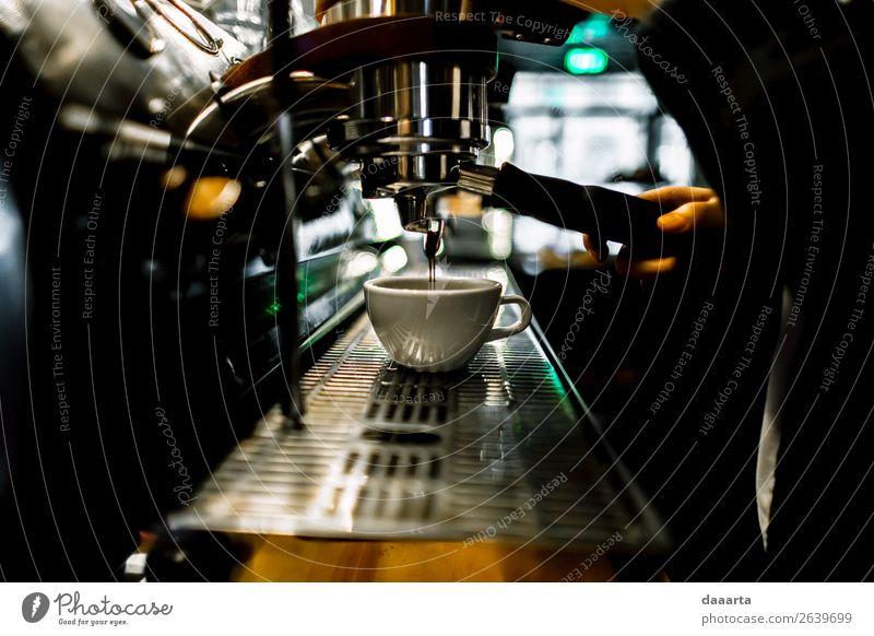 morning coffee 8 Beverage Coffee Latte macchiato Espresso Mug Coffee maker Café Cafeteria Elegant Style Design Joy Life Harmonious Leisure and hobbies Adventure
