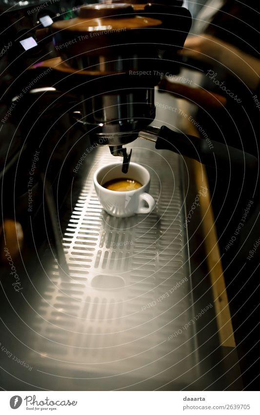 smoked coffee Beverage Hot drink Hot Chocolate Coffee Latte macchiato Espresso Mug Café Cafeteria Coffee maker Lifestyle Elegant Style Design Joy Harmonious
