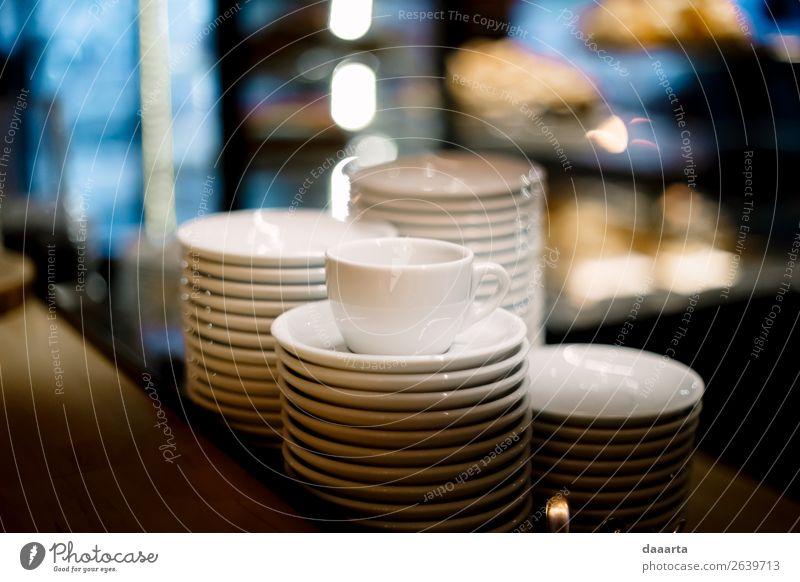 dishes Plate Mug Lifestyle Elegant Style Harmonious Leisure and hobbies Flat (apartment) Dream house Kitchen Event Restaurant Bar Cocktail bar