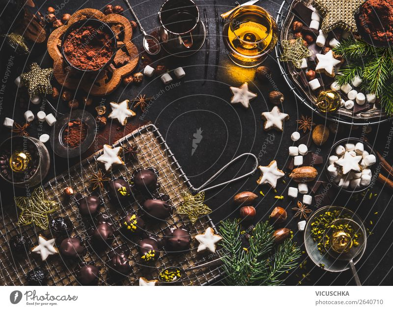 Christmas & Advent Winter Food Background picture Style Feasts & Celebrations Living or residing Design Nutrition Decoration Shopping Beverage Candy Baked goods
