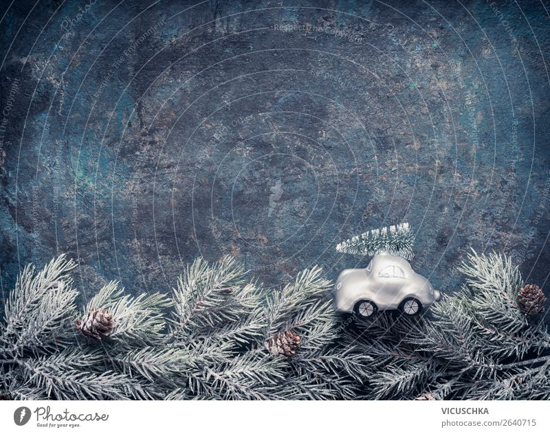 Nature Christmas & Advent Winter Background picture Snow Feasts & Celebrations Style Moody Design Decoration Car Retro Symbols and metaphors Frost Hip & trendy