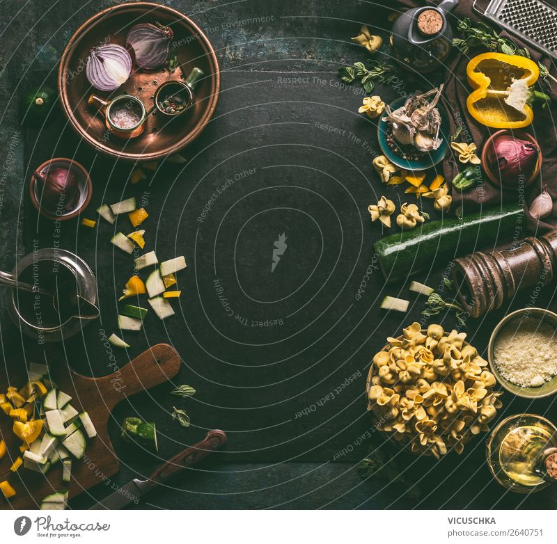 Fresh vegetarian tortellini with vegetables Food Vegetable Dough Baked goods Lunch Italian Food Crockery Style Design Healthy Eating Background picture Cooking