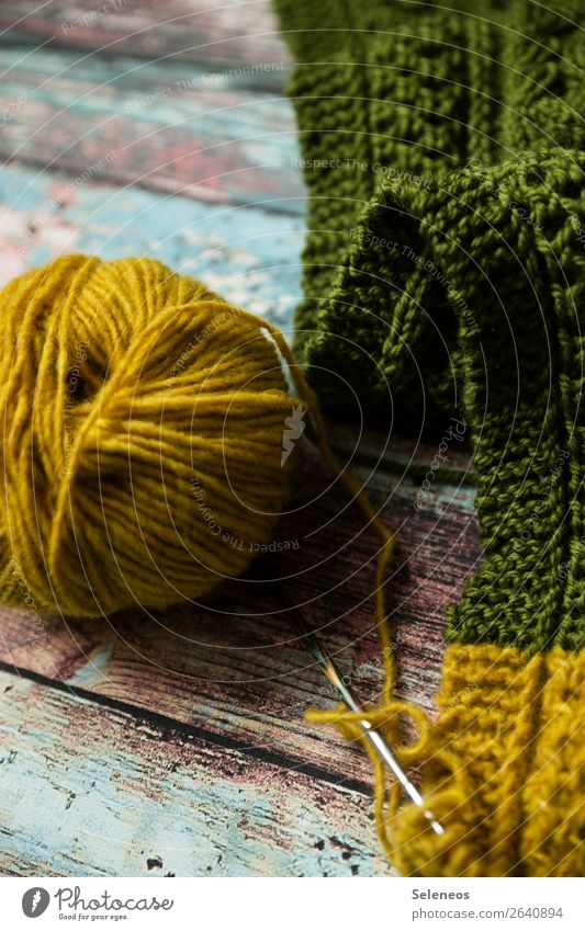 knit Contentment Senses Relaxation Calm Leisure and hobbies Handcrafts Knit Cuddly Warmth Soft Knitting pattern Knitting needle Wool Ball of wool Wooly