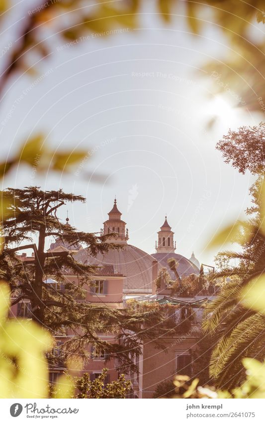 XX Rome - Italian dome show Church Historic Architecture Religion and faith Exterior shot Deserted Tourist Attraction Dome Colour photo