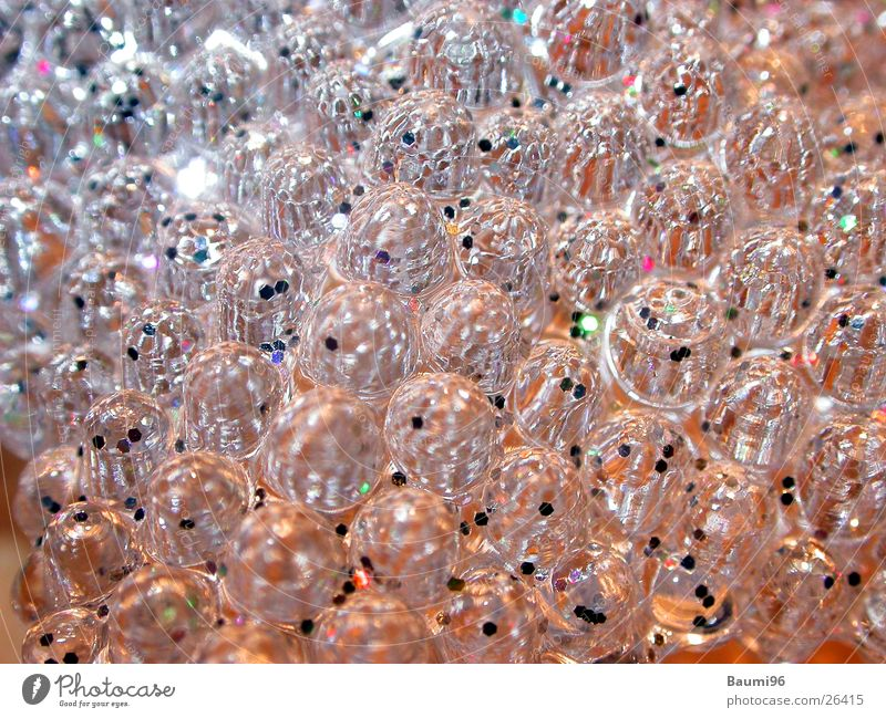 Glittering Glass Things Sphere Surface