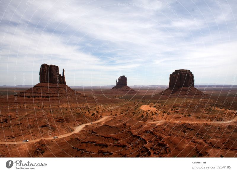 Monument Valley Vacation & Travel Tourism Adventure Far-off places Sightseeing Sand Desert USA Deserted Tourist Attraction Infinity Historic Dry Brown Beautiful