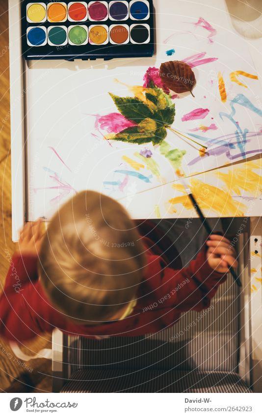 Child Human being Hand Leaf Joy Girl Life Feminine Boy (child) Small Art Head Infancy Happiness Creativity Study