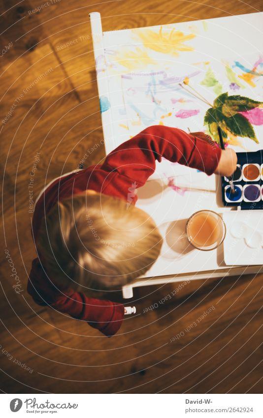 Watercolor II Joy Contentment Calm Handicraft Handcrafts Parenting Kindergarten Child Study Human being Feminine Toddler Girl Infancy Life Head Arm Fingers 1