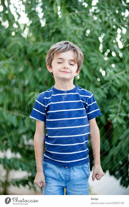 Relaxed child with closed eyes dreaming Happy Beautiful Face Calm Playing Child School Human being Baby Boy (child) Man Adults Infancy Hand Think Smiling Sleep