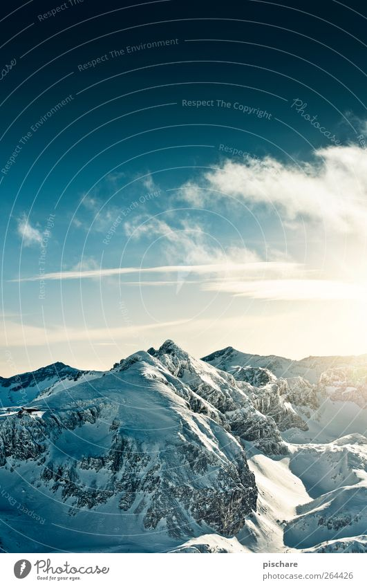 Sky Nature Winter Clouds Landscape Snow Mountain Adventure Infinity Beautiful weather Snowcapped peak Gigantic