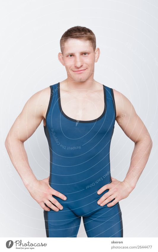 the guy in the wrestling leotard Human being Youth (Young adults) Beautiful Young man 18 - 30 years Lifestyle Adults Sports Style Exceptional Fashion
