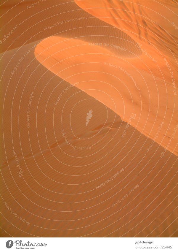 Red Mountain Warmth Sand Waves Desert Physics Dubai Sahara