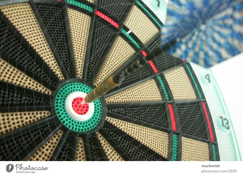 A bull's eye! Darts Dartboard Things Arrow