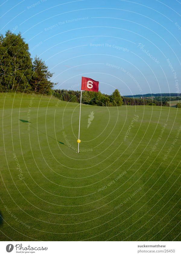 Sports Wind Flag Golf course