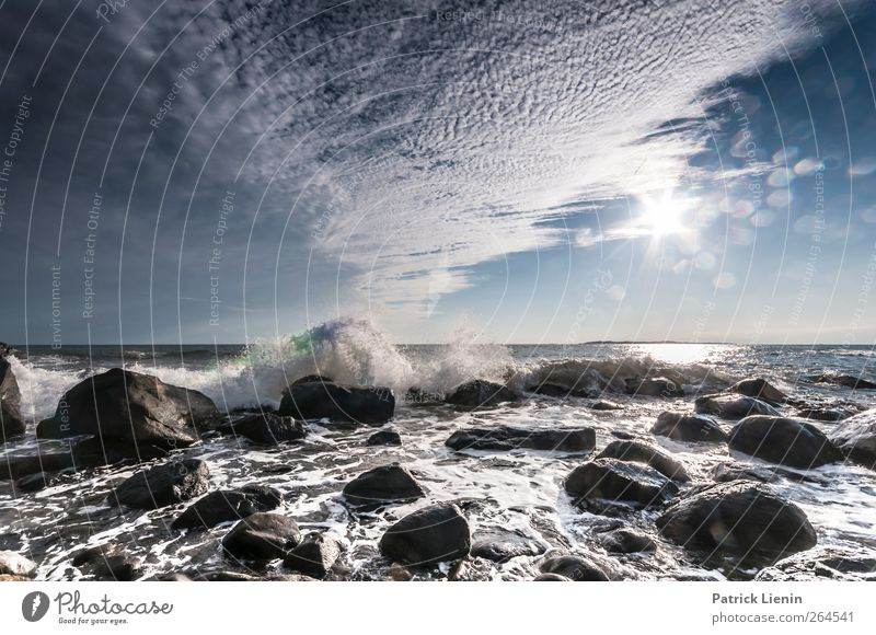 Sky Nature Water Sun Ocean Clouds Loneliness Relaxation Environment Landscape Coast Movement Freedom Stone Air Earth