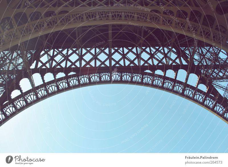 Sky City Love Architecture Building Air Places Bridge Europe Tower Manmade structures Paris Gate Monument Landmark Frame