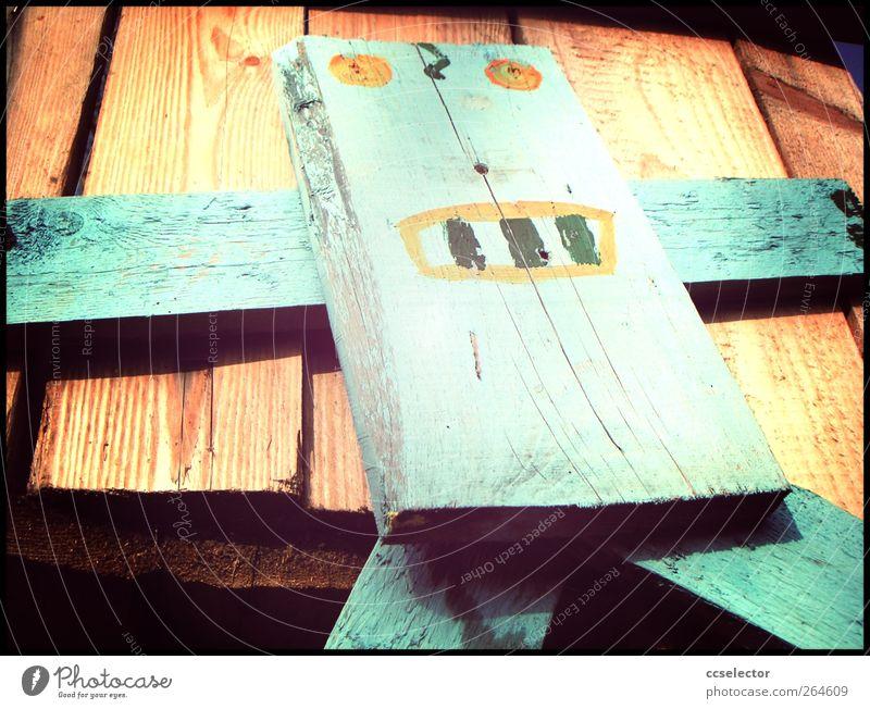 robots Wood Modern Wooden board Face Wooden figure Robot K.I. Artificial intelligence Cybernetics