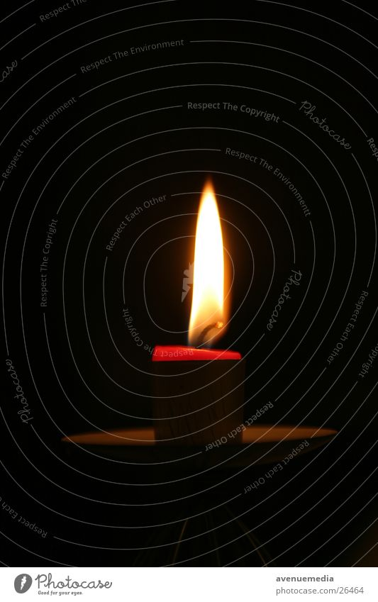 Candle approaches the end Wax Short Things Blaze End Candlewick Flame