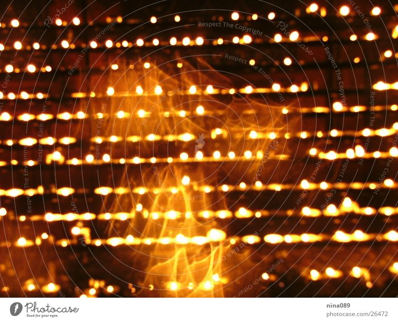 Blaze Candle Flame Photographic technology