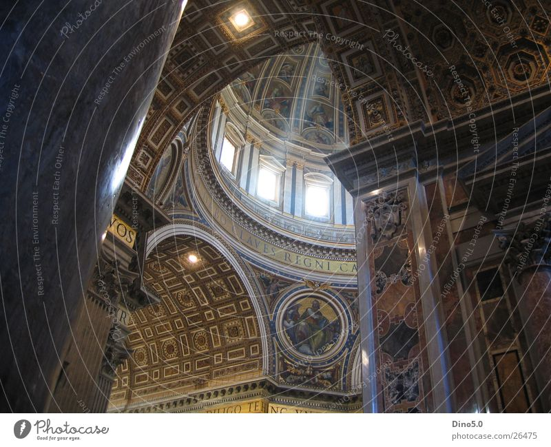 Peter's Cathedral Rome St. Peter's Cathedral Light Architecture Religion and faith