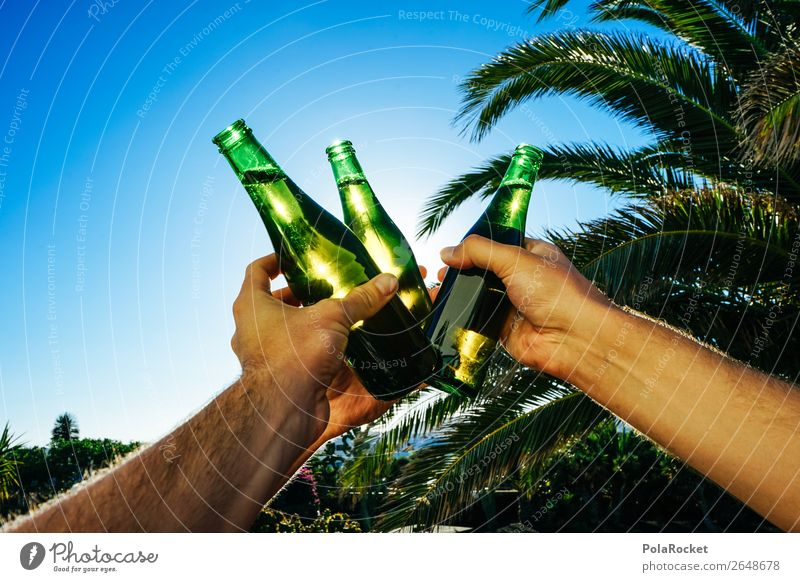 #AS# Cheers! Art Esthetic Beer Beer garden Bottle of beer Beer tent cheers Toast Drinking Party Party goer Party mood Party service Summer Exterior shot Joy