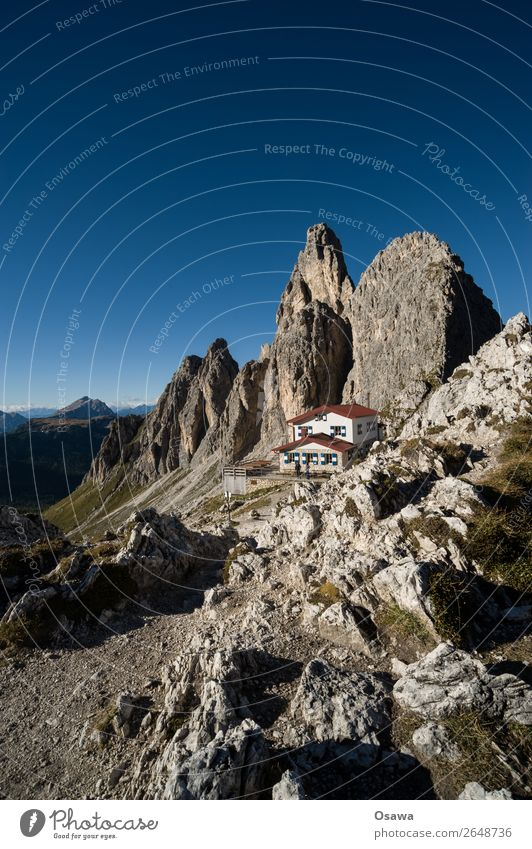 Rifugio Fonda Savio Italy South Tyrol Alps Mountain Rock Stone Peak Landscape Dolomites Hiking Mountaineering Climbing Nature Meadow Tall High Alps Sky Summer
