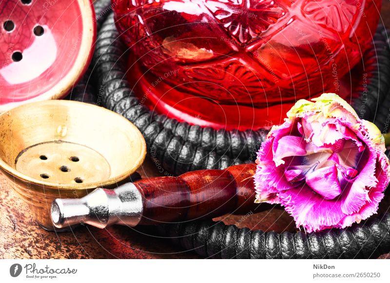 hookah smoke tobacco shisha mint pipe east arabic nicotine mouthpiece spearmint kalian oriental nargile exotic turkish addiction lifestyle object egyptian