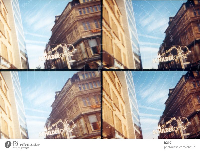 Sky House (Residential Structure) Street Building Architecture Characters Lomography