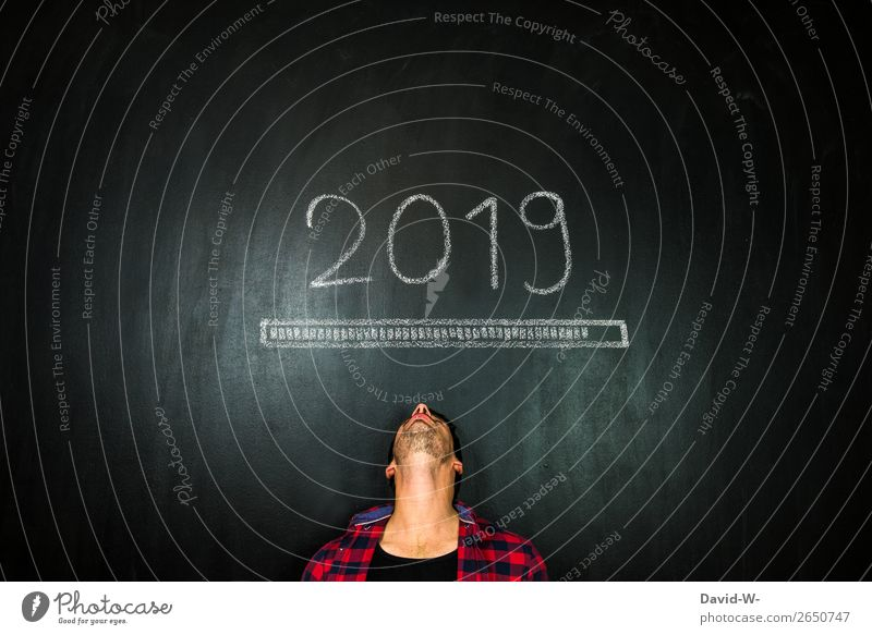 soon the new year begins Elegant Design Feasts & Celebrations New Year's Eve School Blackboard Academic studies Work and employment Economy Trade Business