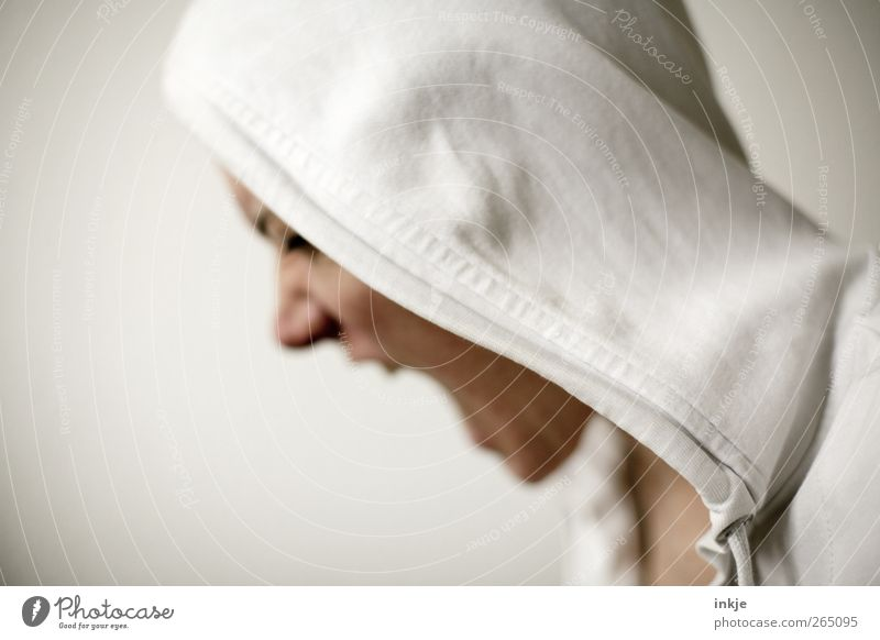 if I could talk to you. Life Face 1 Human being Hooded sweater Hooded (clothing) Vignetting Scream Aggression Threat Rebellious Anger White Emotions Moody Vice