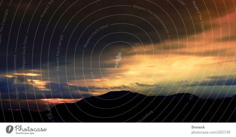 it's time Environment Nature Landscape Elements Earth Air Sky Clouds Storm clouds Night sky Horizon Sun Sunrise Sunset Sunlight Hill Rock Mountain Peak Deserted