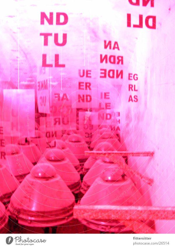 red light Insulator Art Red undertone Industry color distortion bunker alexanderplatz