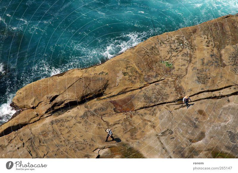 coastline fishing Nature Relaxation Coast Brown Rock Fishing (Angle) Australia