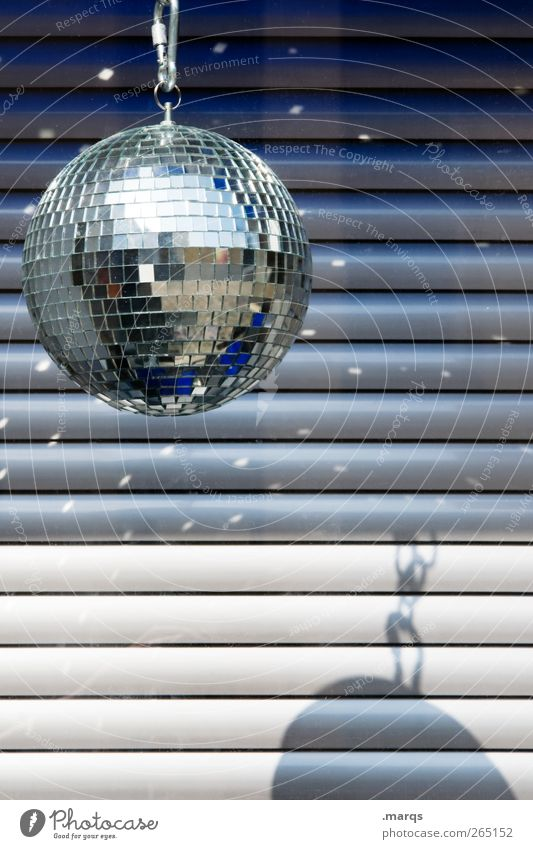 disco Lifestyle Style Design Night life Party Event Music Club Disco Disc jockey Going out Feasts & Celebrations Clubbing Dance Birthday Disco ball Line Stripe