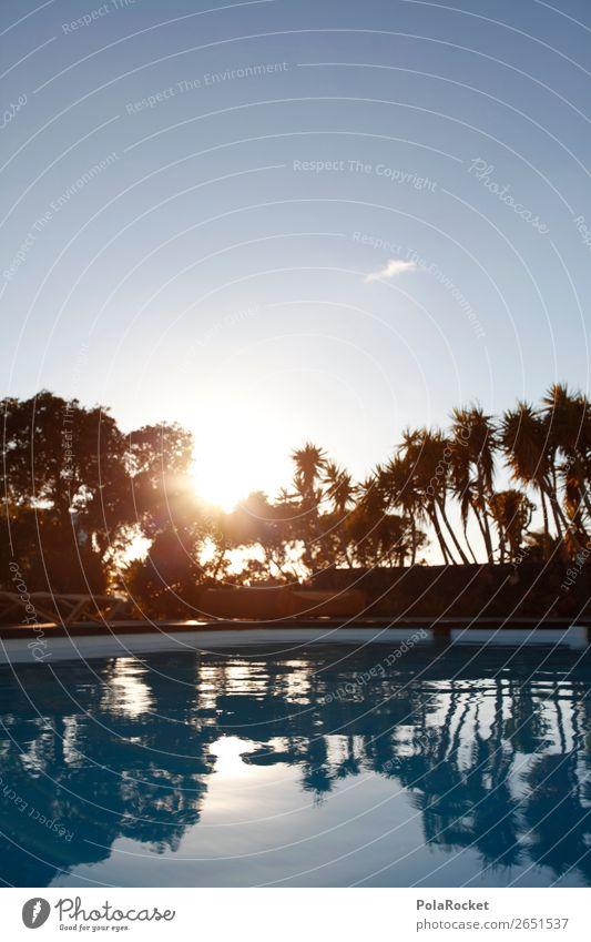 #AS# Blue sun Exotic Esthetic Swimming pool Summer Summer vacation Blue sky Vacation & Travel Vacation photo Vacation mood Vacation destination