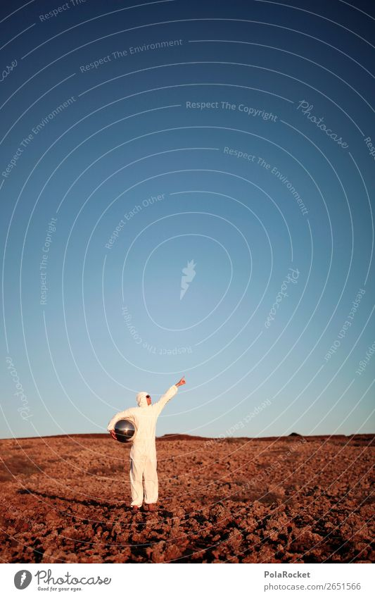 #As# To the Mooooooon! Art Work of art Esthetic Mars Martian landscape Moon Astronaut Astronomy Astrology Pioneer Loneliness Stupid Creativity Exceptional