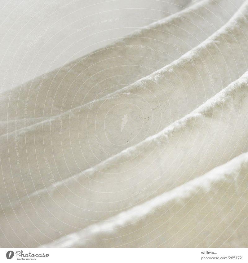 White Bright Elegant Esthetic Decoration Soft Wrinkles Luxury Well-being Cuddly Smooth Textiles Folds Velvet Caress
