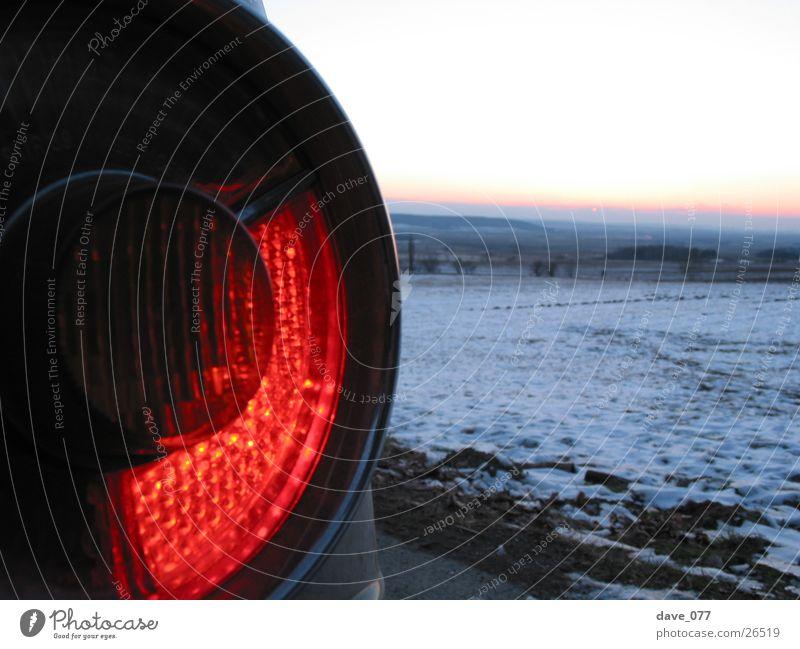 nilzwo Light Sunset Rear light Rear lights Brake light Winter Transport BMW2002 Snow round lamp stoplight