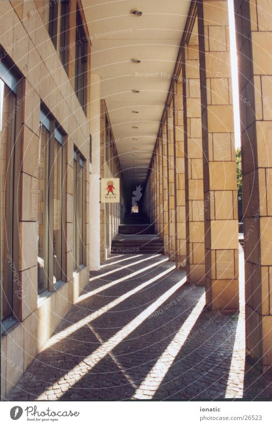 shadow columns Frankfurt Light Architecture Shadow Column harness Corridor
