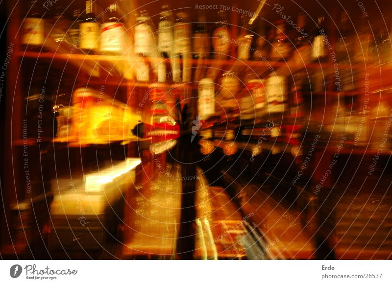 Alcohol at a slant Shelves Spigot Zoom effect Long exposure Alcoholic drinks High aperture