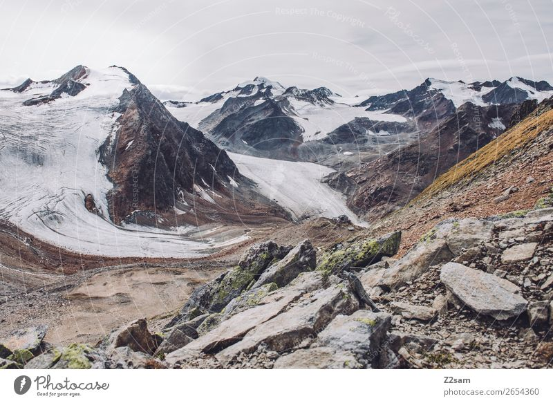 Nature Landscape Loneliness Mountain Environment Natural Rock Hiking Ice Idyll Adventure Tall Climate Peak Alps Frost