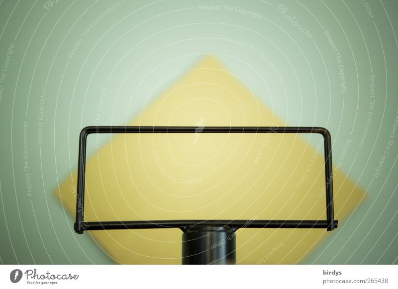 general conditions Paper Exceptional Uniqueness Positive Yellow Black Esthetic Perspective Pillar Frame Rectangle Square Background lighting Mint green Symmetry
