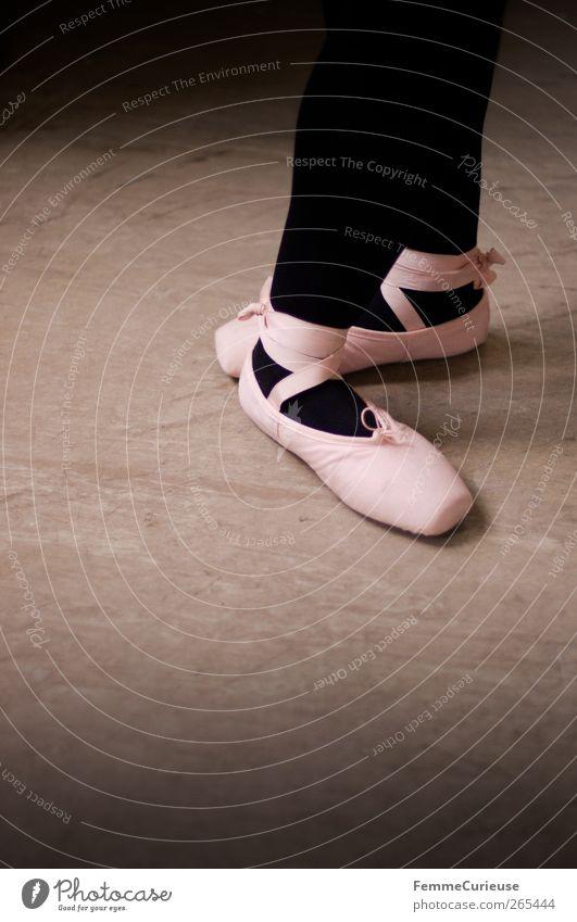 Black Dance Pink Stand Posture Tights Sports Training Ballet Artist Dancer Practice Precision Dexterity Ballet shoe Articulated Body control