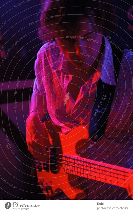 Blue Red Music Gastronomy Concert Guitar Stage Singer Rock'n'Roll Musician Guitarist Roadhouse Rocker