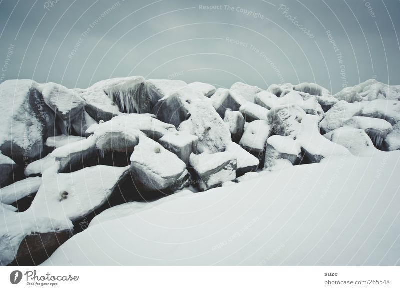 Sky Nature White Winter Landscape Environment Dark Cold Snow Gray Stone Air Ice Weather Climate Authentic