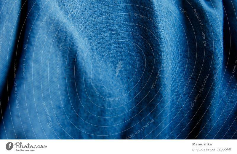 Blue Fashion Natural Modern Clothing T-shirt Cloth Soft Clean Near Cuddly Cotton
